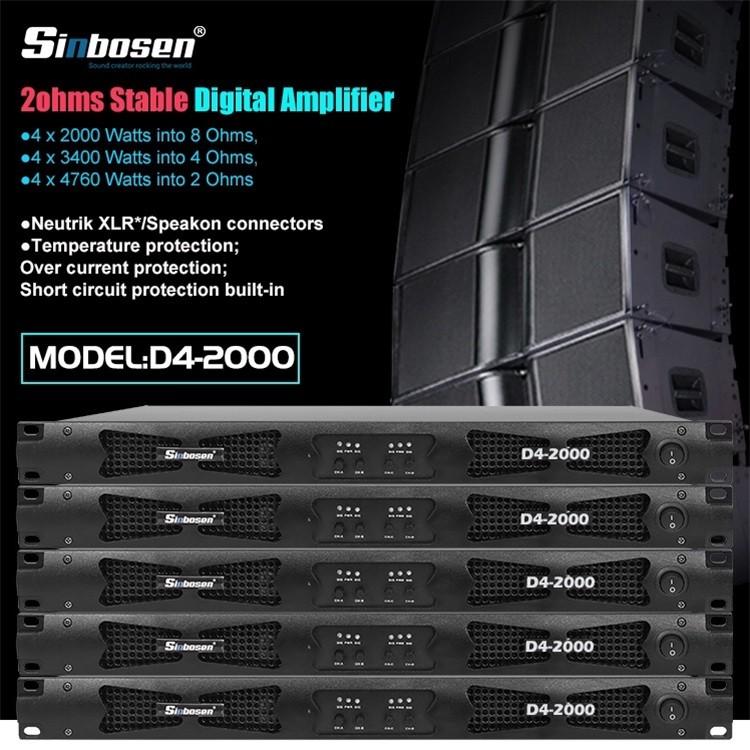Sinbosen 2ohms stable amplifier