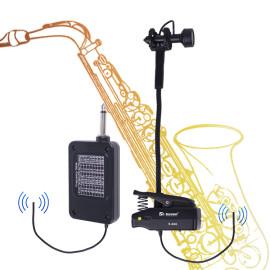 Sinbosen best pick up saxophone microphone clip wireless instrument microphone