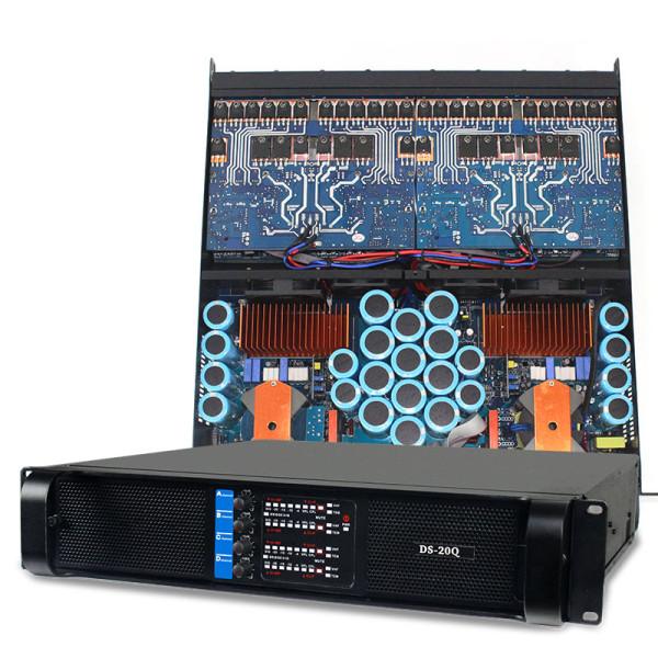 Sinbosen FP20000Q 4000 watt 4 channel professional bass power amplifier dual 18 inch subwoofer