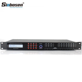 Sinbosen 4 INPUT 8 OUTPUT DIGITAL AUDIO PROCESSOR DISPLAY FUNCTIONS AD48