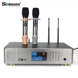 Sinbosen S450 KTV audio 450w 2ch power amplifier UHF Microphone HDMI 2.0 USB MP3 Bluetooth