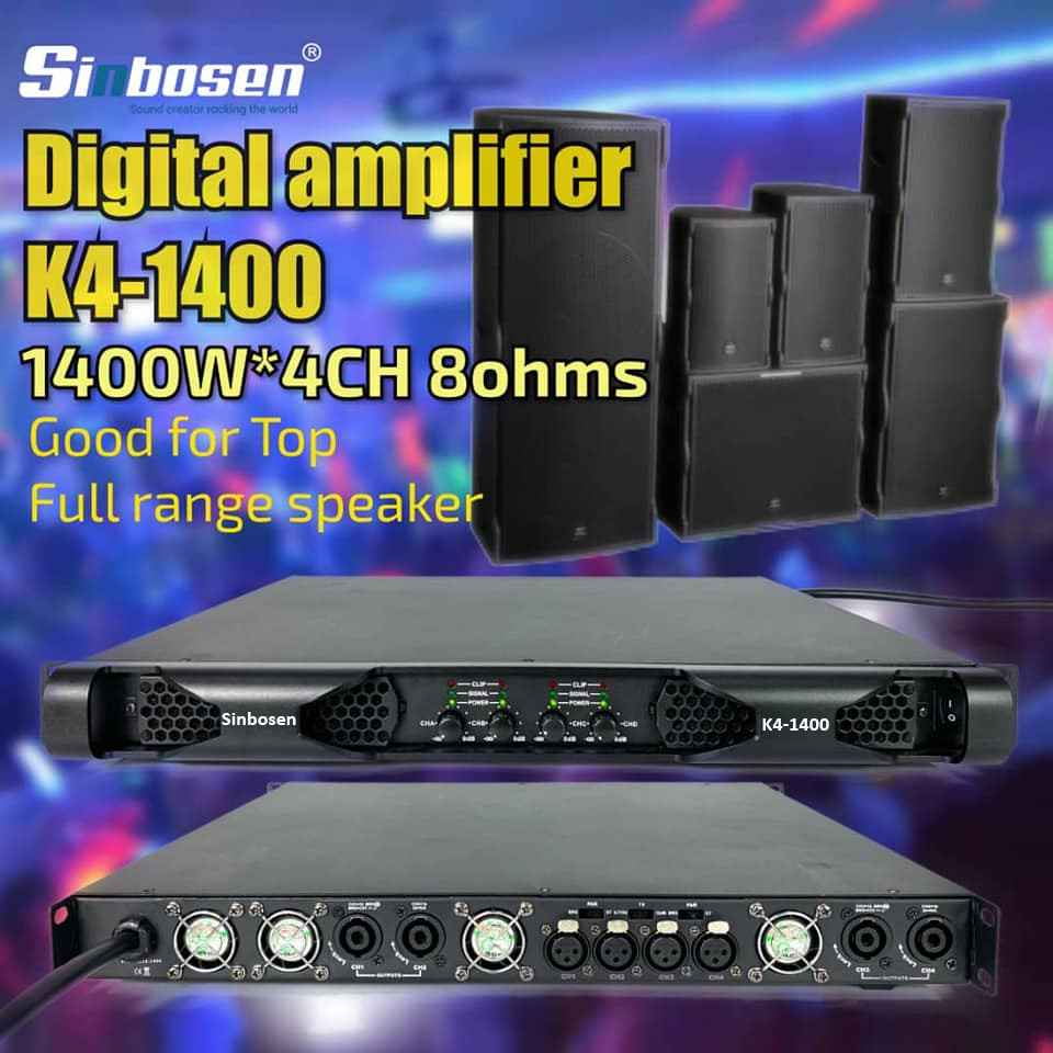Send an inquiry about Sinbosen K4-1400 amplifier