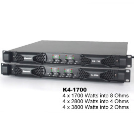 Sinbosen professional digital power amplifier K4-1700 4 channel 2 ohms 3800 power amplifier