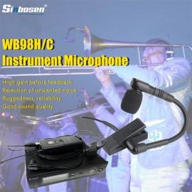 Sinbosen SLX4 / BETA98H Wireless Condenser Microphone Lavalier Gooseneck Instrument Microphone