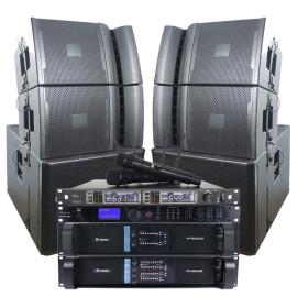 Sinbosen amplifier microphone audio processor speaker bass professional audio karaoke sound system