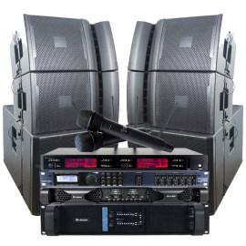 Sinbosen professional audio equipment dj audio system amp mic processor speakers