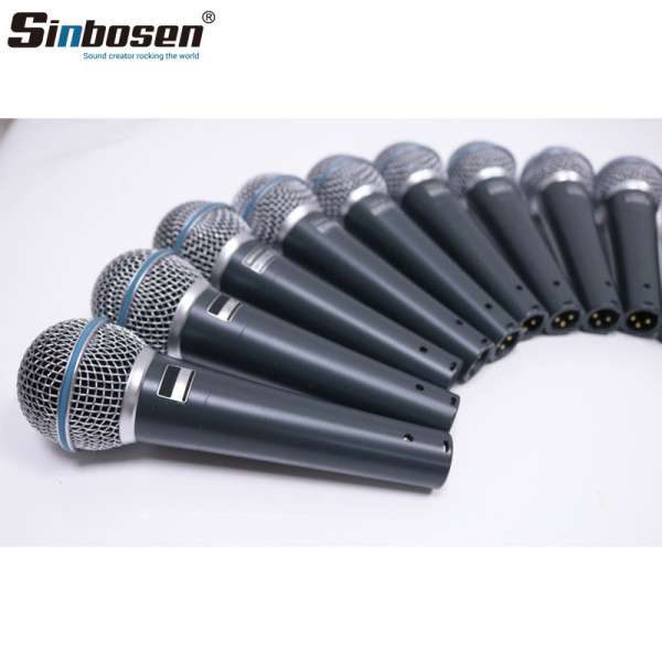 Sinbosen Professional Beta 58A Dynamic Wired microphone Moving Coil Vocal Microphone