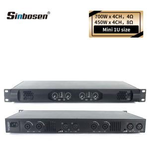 Sinbosen K4-450 K2-450 Home audio 450 watt class d small 1U stereo digital karaoke amplifier