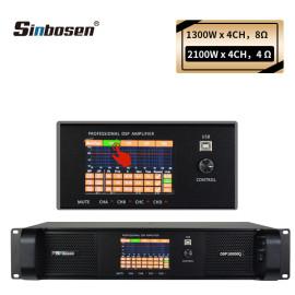 2021 Sinbosen newest High quality 4 channel 1300w DSP FP10000q module power amplifier DSP10000q