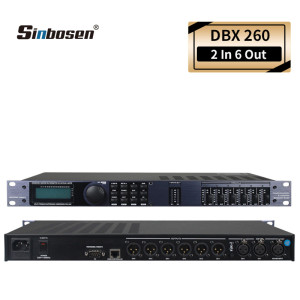 audio digital processor DBX 260 sound 2 In 6 out professional  High quality