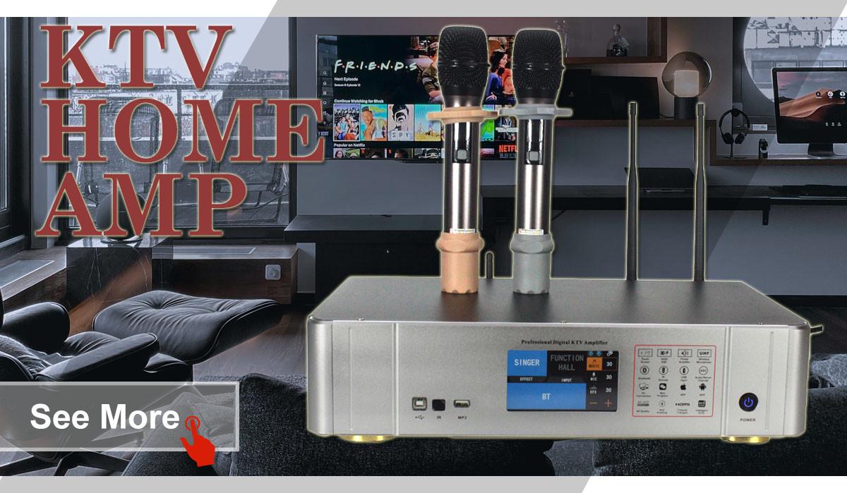 Enviar una consulta sobre Amplificador KTV Sinbosen S450