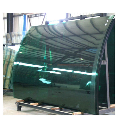 Bent Curved Tempered Glass for Shower Door