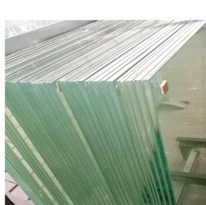 Balustrade de balcon en verre feuilleté trempé utilisé