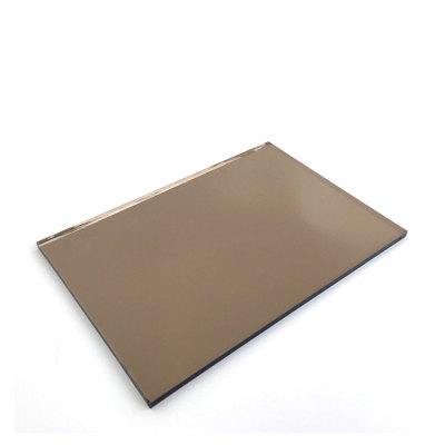 4mm 5mm 5.5mm 6mm  light Bronze Reflective Glass