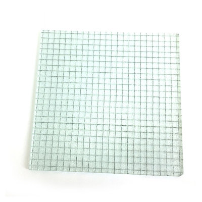 6mm 7mm Safety Wired Glass
