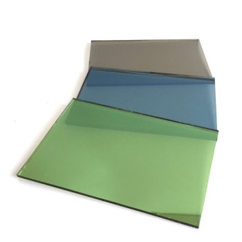 Blue Green Bronze Grey Pink Gold Soft Coated Reflective Glass