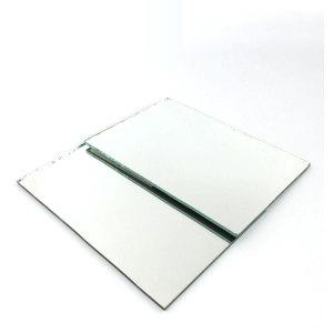 2.7mm 3mm 4mm 5mm 6mm couleur argent clair Miroir