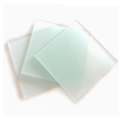 3mm - 19mm clear tinted colored Acid Etched Glass