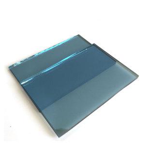 4mm 5mm 5.5mm 6mm 8mm Light Blue Reflective Glass