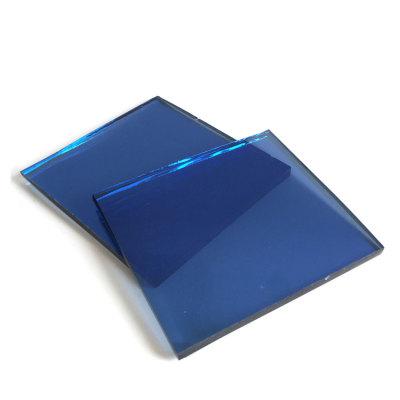 4mm 5mm 5.5mm 6mm 8mm Dark Blue Reflective Glass