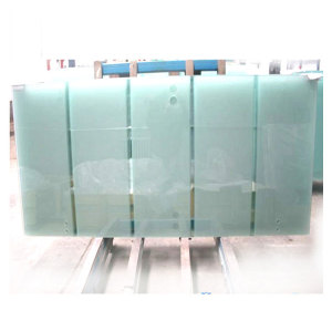 Porte en verre dépoli de porte en verre trempé de porte de verre trempé de 8mm 10mm 12mm pour la porte de salle de bains ou de sauna