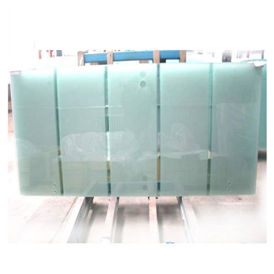 8mm 10mm 12mm Frosted Tempered Glass Bathroom Door