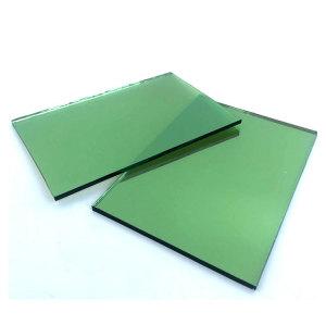 4mm 5mm 5.5mm 6mm 8mm verre vert foncé réfléchissant