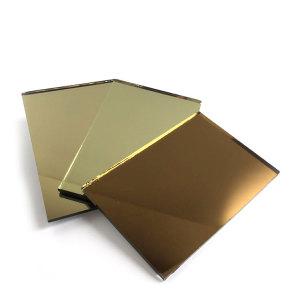 China Fabrik 3mm 4mm 5mm 6mm Bronze Spiegel