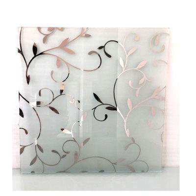 4mm 5mm 6mm 8mm Decorative Art Acid Etched Glass