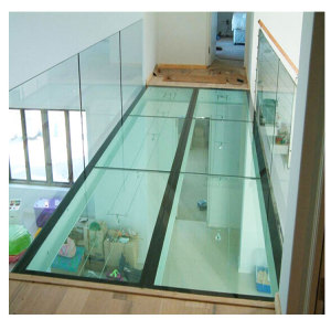 Tempered Glass Floor