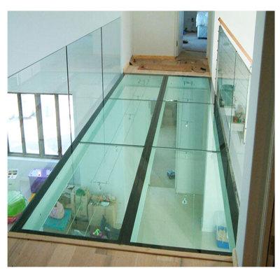Tempered Glass Floor