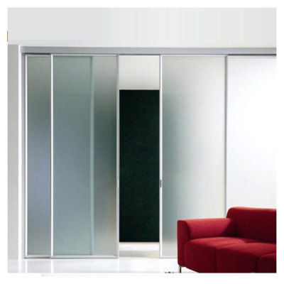 Tempered Glass Sliding Door