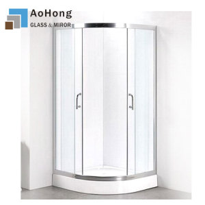Tempered Glass Bathroom Door