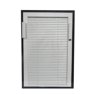 Double Glazed Glass with Blinds