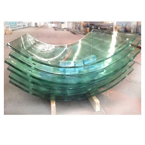 Curved Bent Tempered Laminated glass