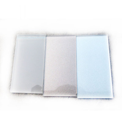 Silver Painted Glass