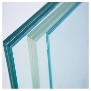 0.89mm 1.52mm SGP Laminated Glass