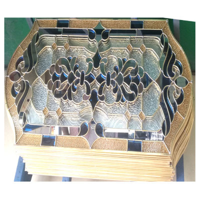 China Supplier Insulated Stained Glass Door Inserts