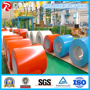 PPGI color coated steel coil Prepainted galvanized steel coil 0.35*1200