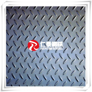 Tear drop checkered plate thickness 4.5mm