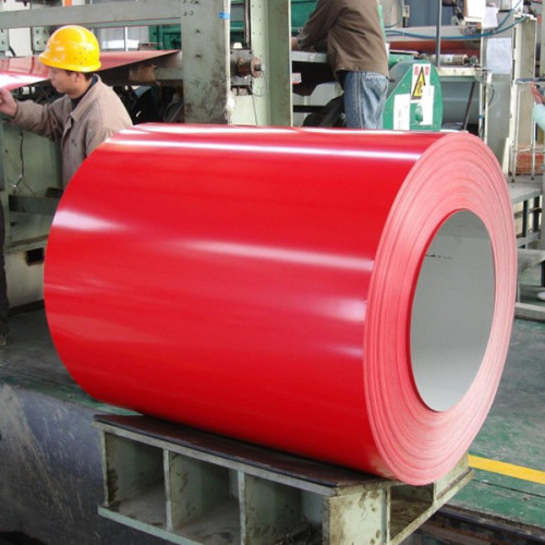 Dx51d z40-z275 hot dipped prepainted galvanized steel coil ppgi