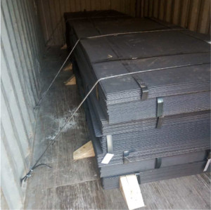 China supplier hot rolled corten steel prices