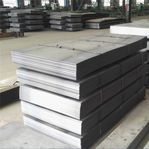 ST37 ST52  Hot Rolled Metal Steel Plate