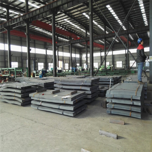 Tear Drop Steel Plate  SS400 A36 Q235B