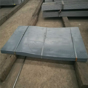 Tear Drop  Steel Plate