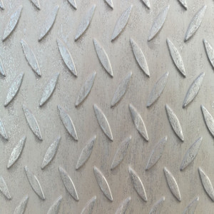 checkered plate hot rolled mild plate steel