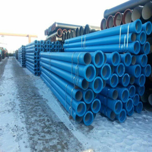 ISO2531 EN545 Standard K9 ductile iron pipe