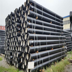 K9 class DN300 ductile iron pipe