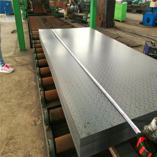 1.5*1220*2438mm Checkered Steel Plate / Coil Ms Sheet Metal