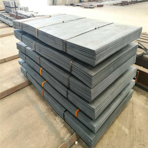 China best seller steel checkered plate size